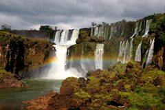 Аргентина. Водопады Фос ду Игуасу.