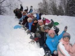 Детский отдых на зимние каникулы
